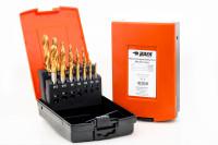 BAER Set HSSE-TIN: Maschinengewindebohrer Sackloch | Kernlochbohrer: M 3 - 12