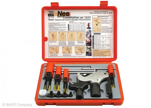Restaurierer Set Außen: 4-38mm | Innen: 8-32mm (60° M, MF, UNC, UNF, UN, NPT)