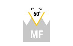 MF - metrisches Feingewinde