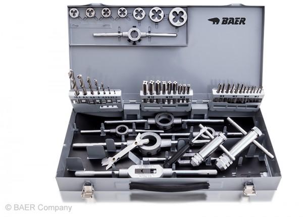BAER SET HSS Handgewindebohrer   Schneideisen   Werkzeuge : M 3 - 12