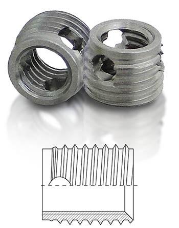 BaerFix mit Schneidbohrungen M 3 x 0,5 - 4 mm - 1.4305 - 10 Stück