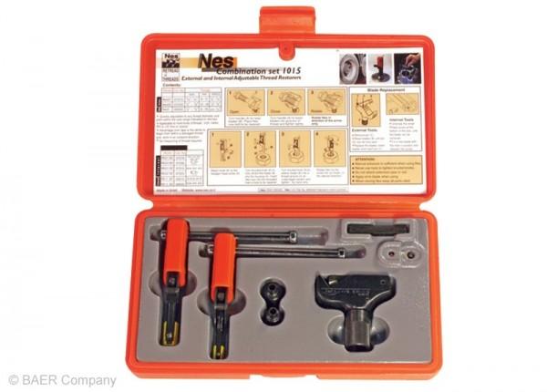 Restaurierer Set Außen: 4-18mm | Innen: 8-16mm (60° M, MF, UNC, UNF, UN, NPT)
