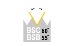 BSB - BSC - brit. std. Gewinde