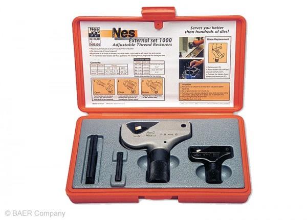 Restaurierer Set Außengewinde 4-38mm | 5/32''-1.1/2'' (60° M, MF, UNC, UNF, UN, NPT)