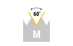M - metrisches Regelgewinde