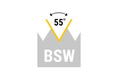BSW - britisches Grobgewinde