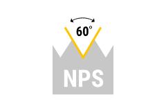 NPS - amer. zyl. Rohrgewinde