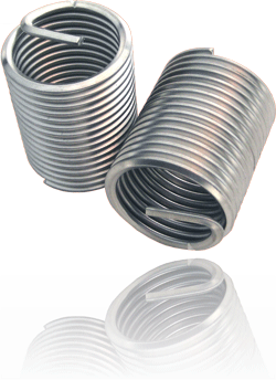 BaerCoil Gewindeeinsätze UNC 1/4 x 20 - 2,0 D - 10 Stück