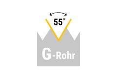G (BSP) - Rohrgewinde